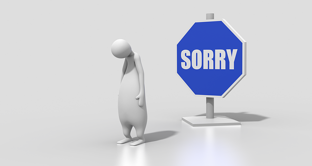 Sign Sorry Character - Free image on Pixabay (296195)