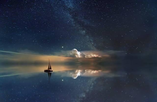 Ocean Starry Sky Milky Way - Free photo on Pixabay (301830)