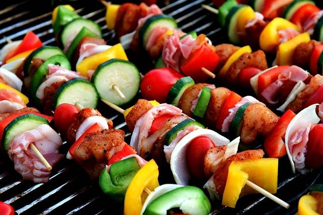 Shish Kebab Meat Skewer Vegetable - Free photo on Pixabay (301975)