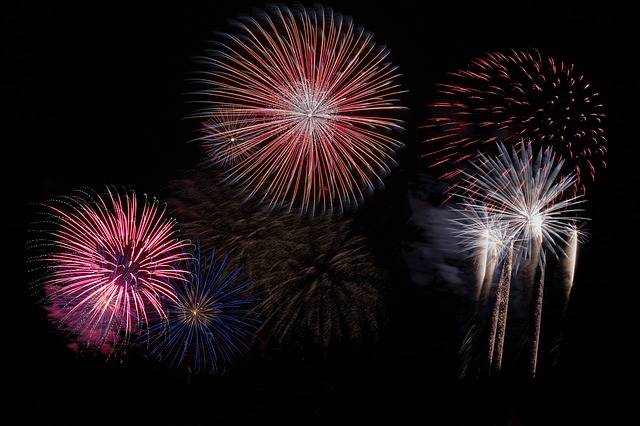 Fireworks Sky Party New Year'S - Free photo on Pixabay (301976)