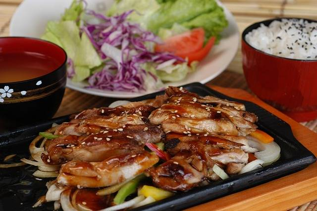 Teriyaki Chicken Japan Cuisine Hot - Free photo on Pixabay (304619)