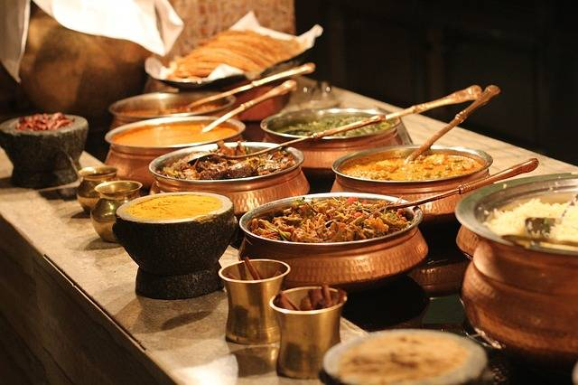 Buffet Indian Food - Free photo on Pixabay (304811)