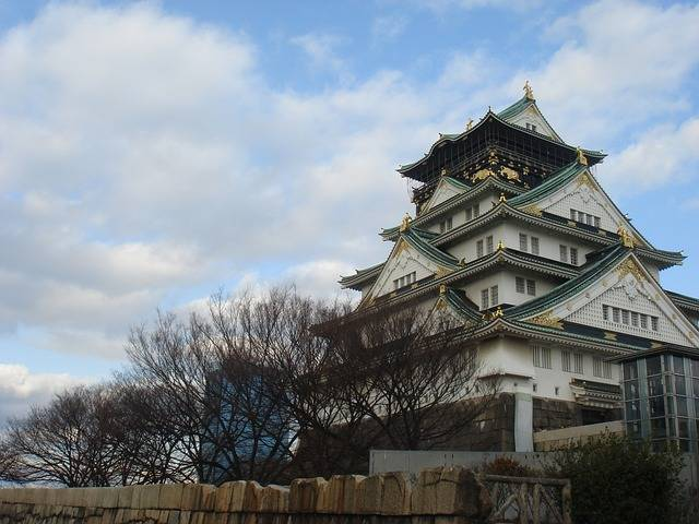 Osaka Castle - Free photo on Pixabay (307090)