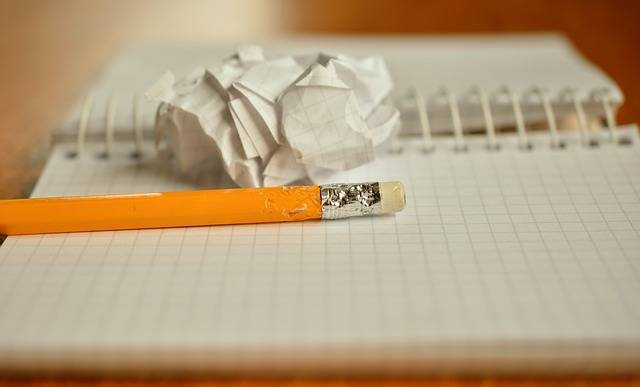 Pencil Notes Chewed Paper - Free photo on Pixabay (312216)