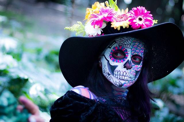 Day Of The Dead Colorful Make Up - Free photo on Pixabay (312505)