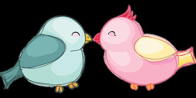 Lovebirds Birds Love - Free vector graphic on Pixabay (314418)