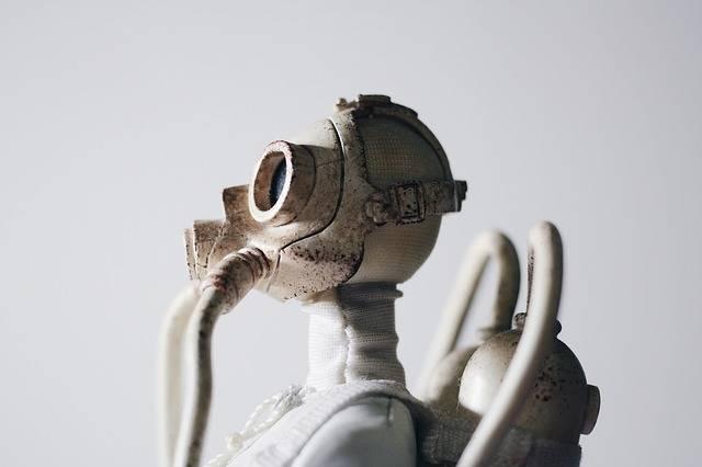 Statue Gas Mask Respirator - Free photo on Pixabay (317792)