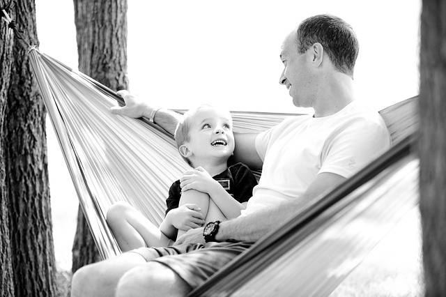 Father Son Hammock - Free photo on Pixabay (318494)