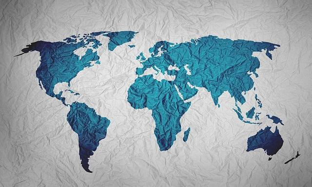 Map Of The World Background Paper - Free image on Pixabay (324602)