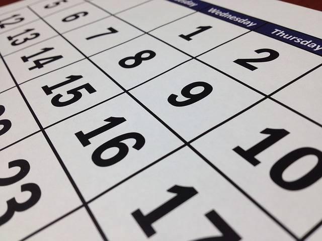 Calendar Date Time - Free photo on Pixabay (325115)