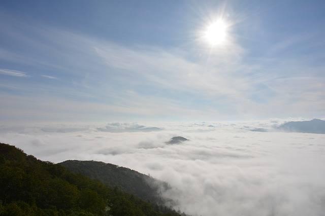 Sea Of Clouds Terrace Hokkaido - Free photo on Pixabay (328202)