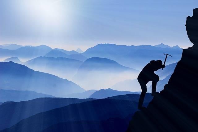 Climb Mountaineering Success - Free photo on Pixabay (328237)