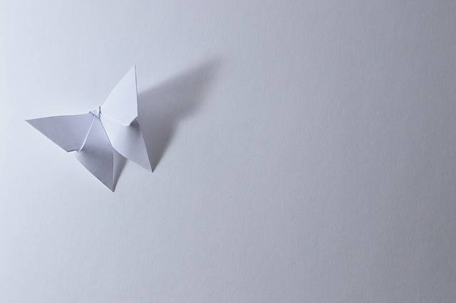 Origami Butterfly Leaf - Free photo on Pixabay (329691)