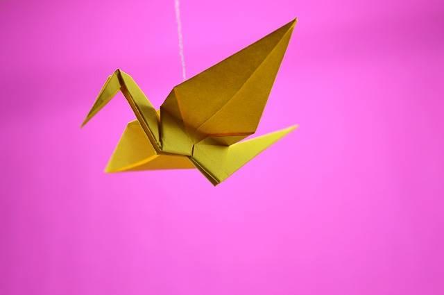 Origami Crane Japanese - Free photo on Pixabay (331148)