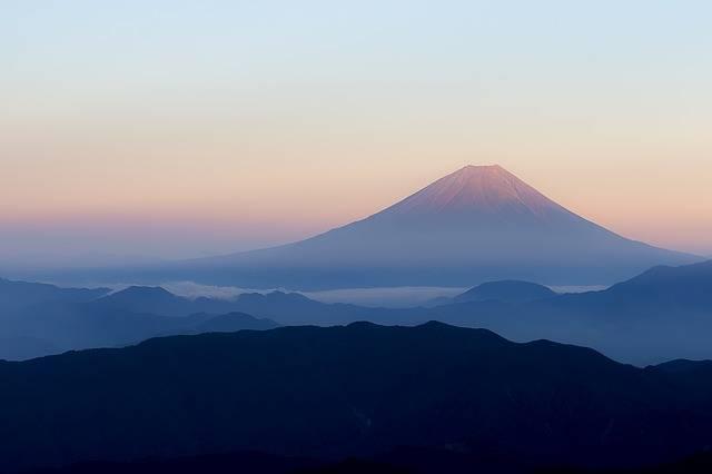 Mt Fuji Japan View From Kitadake - Free photo on Pixabay (333412)