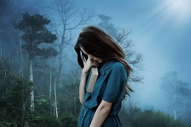 Girl Sadness Loneliness - Free photo on Pixabay (335758)