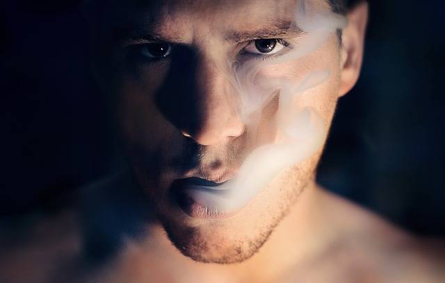 Man Smoke Portrait - Free photo on Pixabay (336932)