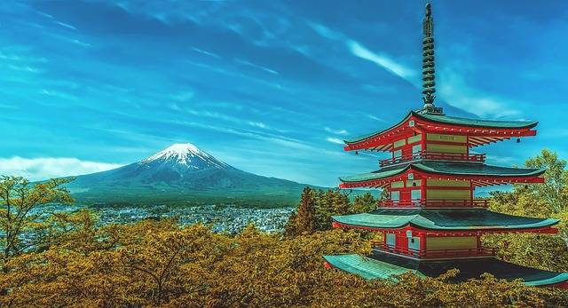 Japan Pagoda Fuji - Free photo on Pixabay (339775)