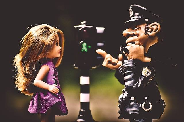 Police Child Learn Rules Of The - Free photo on Pixabay (340262)