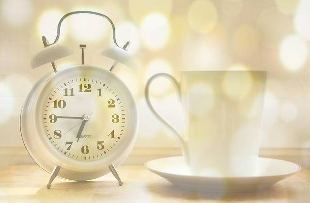Alarm Clock Coffee Cup Time Of - Free photo on Pixabay (342809)