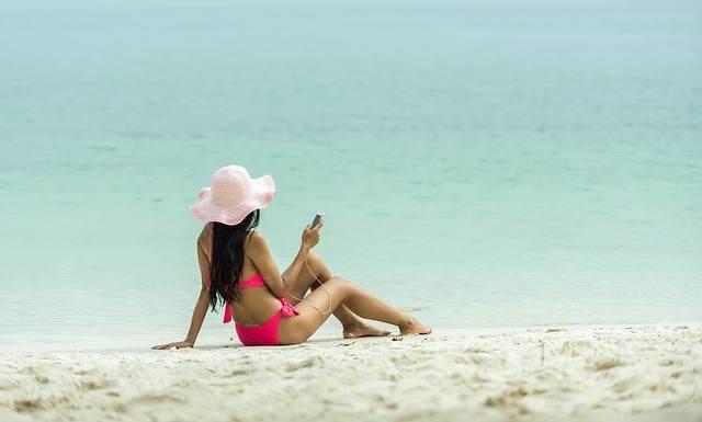 Teenager Beach The Bath - Free photo on Pixabay (345602)