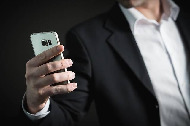 Business Man Smartphone - Free photo on Pixabay (351015)
