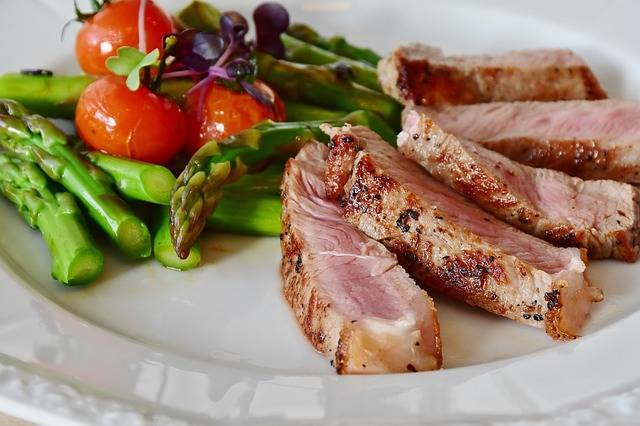 Asparagus Steak Veal - Free photo on Pixabay (353713)