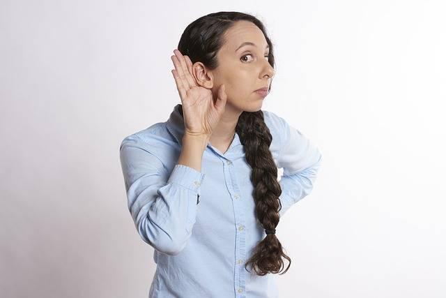 Listen Woman Listening - Free photo on Pixabay (355065)
