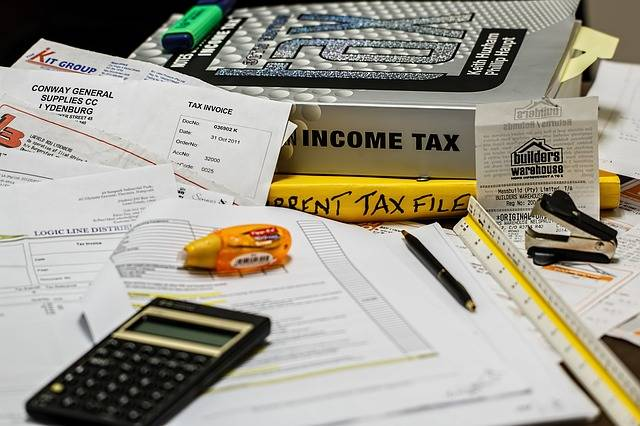 Income Tax Calculation Calculate - Free photo on Pixabay (356360)