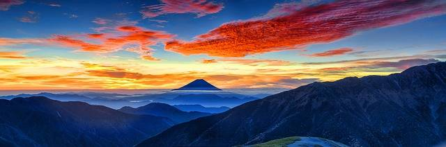 Mount Fuji Volcano Japan Morning - Free photo on Pixabay (357609)