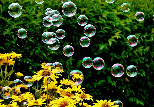 Soap Bubbles Colorful Summer - Free photo on Pixabay (357634)