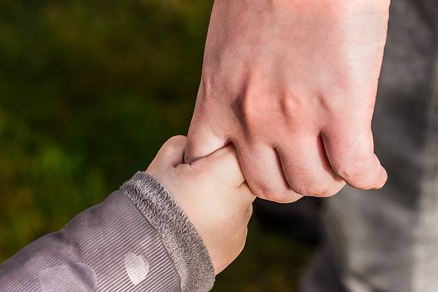 Hands Child'S Hand Hold Tight - Free photo on Pixabay (362475)