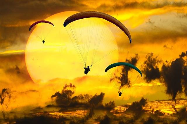 Paragliding Paragliders Adventure - Free photo on Pixabay (364845)