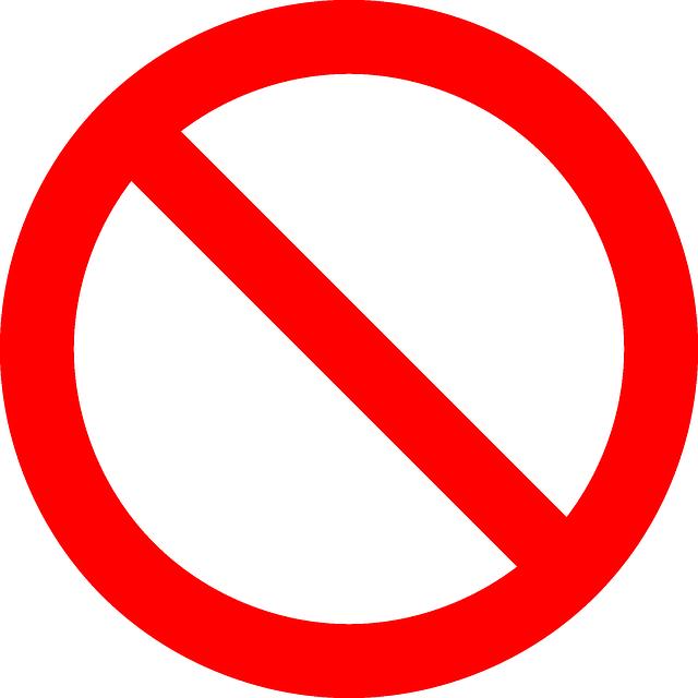 No Symbol Prohibition Sign - Free vector graphic on Pixabay (373079)