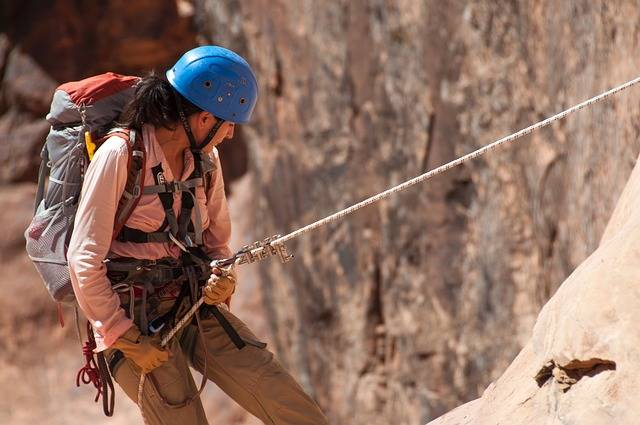 Climbing Rappelling Canyoneering - Free photo on Pixabay (373433)