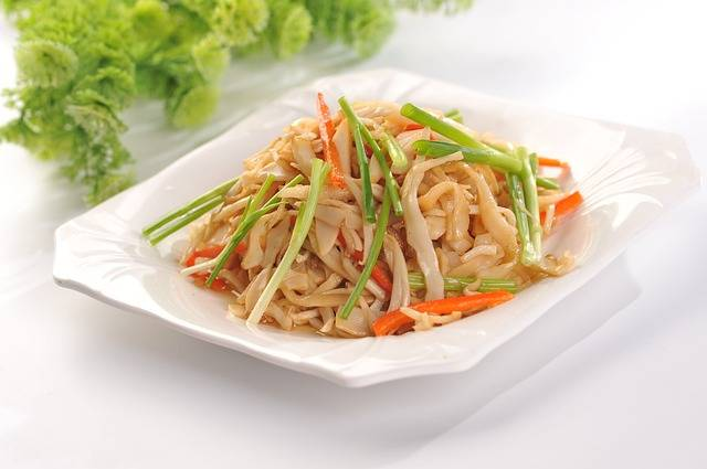 Fried Rice Noodles Chives Shredded - Free photo on Pixabay (373484)