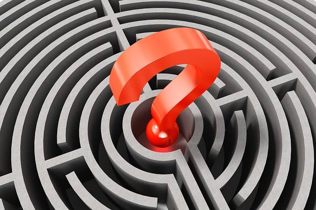 Question Mark Labyrinth Lost - Free image on Pixabay (373705)