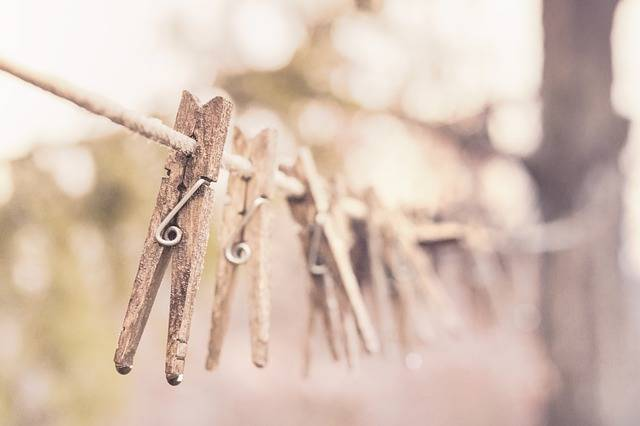 Pegs Clothes Line Clothesline - Free photo on Pixabay (375115)