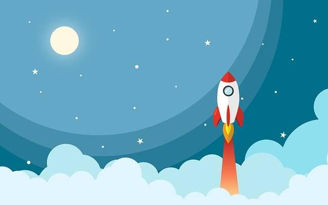 Space Rocket Night - Free image on Pixabay (384177)