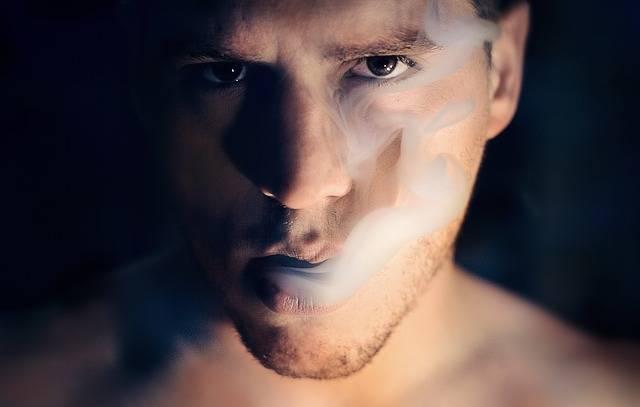 Man Smoke Portrait - Free photo on Pixabay (385389)