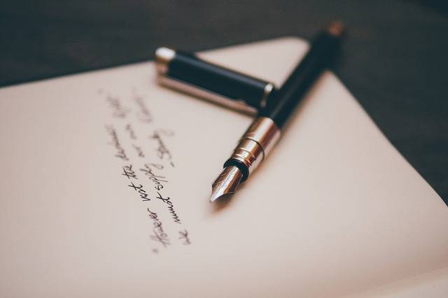 Fountain Pen Notebook Paper - Free photo on Pixabay (386928)