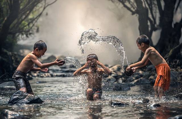 Children River Water The - Free photo on Pixabay (388022)