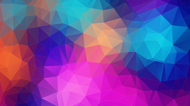 Triangles Polygon Color - Free vector graphic on Pixabay (393830)