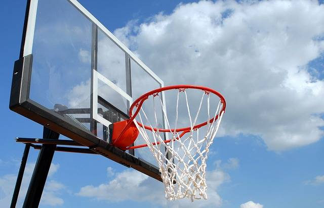 Outdoor Basketball Rim Net - Free photo on Pixabay (394051)