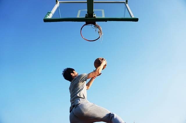 Basketball Dunk Blue - Free photo on Pixabay (394054)