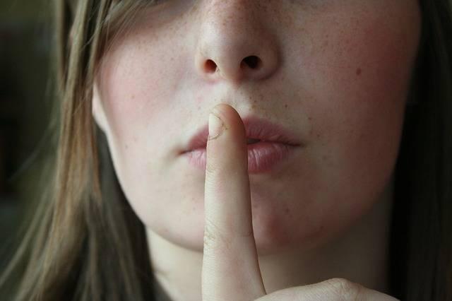 Secret Lips Woman - Free photo on Pixabay (395712)