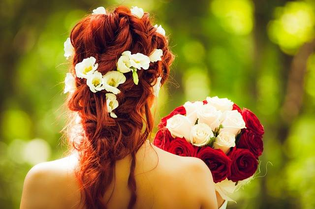 Bride Marry Wedding Red - Free photo on Pixabay (398686)