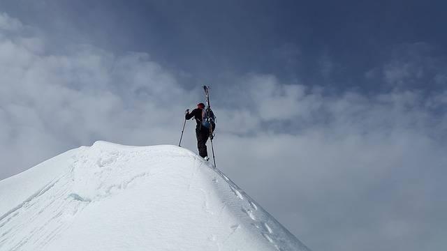 Backcountry Skiiing Summit - Free photo on Pixabay (401764)