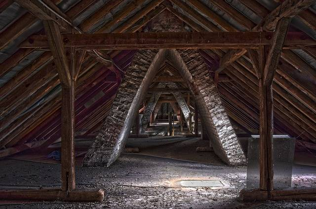 Lost Places Building Roof Truss - Free photo on Pixabay (403987)