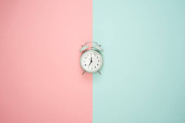 Time Clock Alarm Pastel - Free photo on Pixabay (408361)